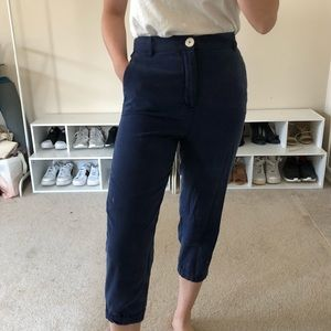 🖤SOLD ON MERC🖤Navy trousers